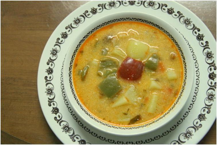 מרק תפוחי אדמה הונגרי