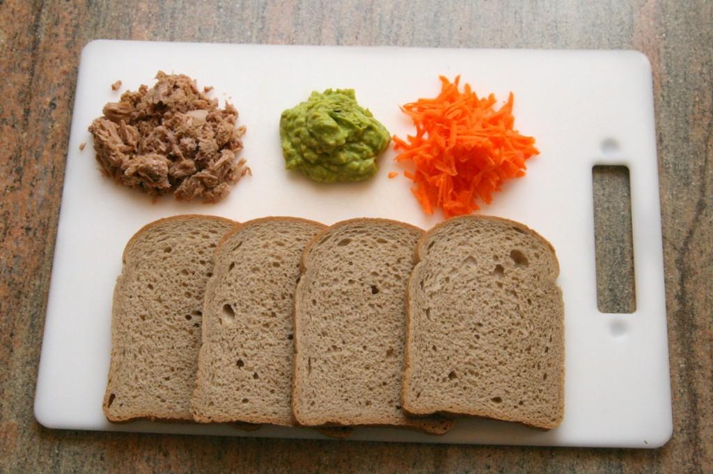 מצרכים לסושי סנדוויץ