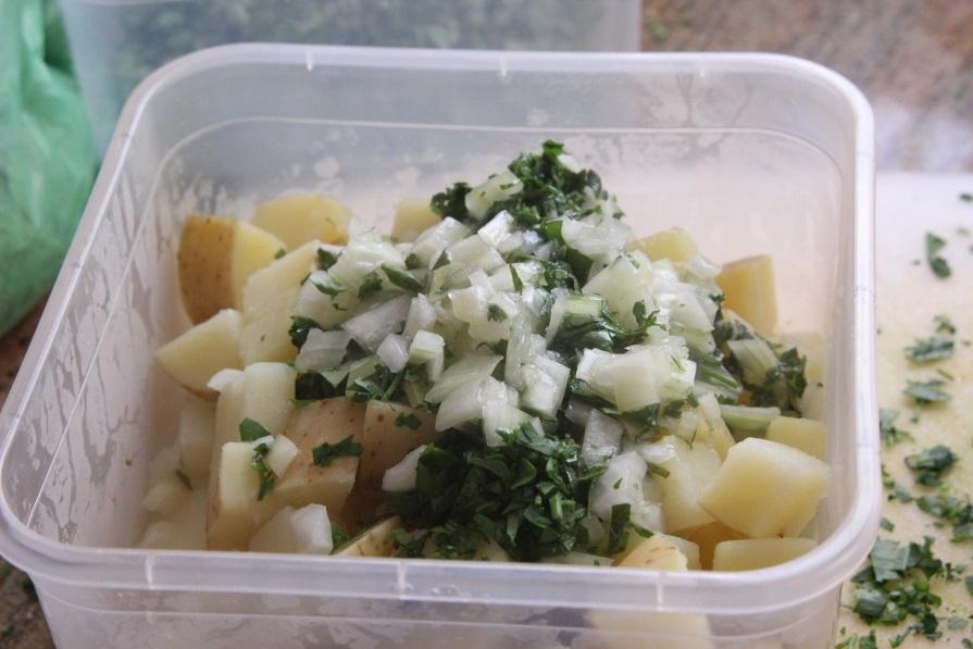 סלט תפוחי אדמה ארמני